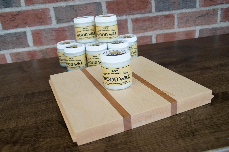 Nature's Nomad 100% Organic Natural Vegan Wood Wax